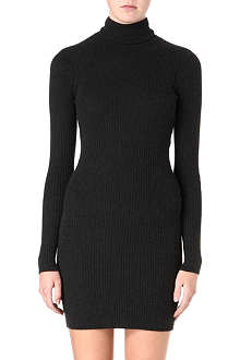 RALPH LAUREN Long-sleeved knitted dress