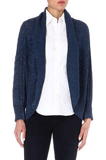 RALPH LAUREN Cable-knit linen cardigan