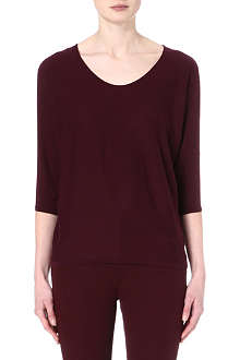 RALPH LAUREN Scoop-neck knitted top