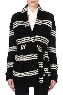 RALPH LAUREN Knitted shawl cardigan