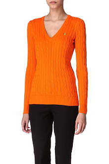 RALPH LAUREN Cable-knitted jumper