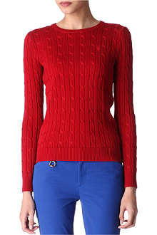 RALPH LAUREN Cable knit jumper