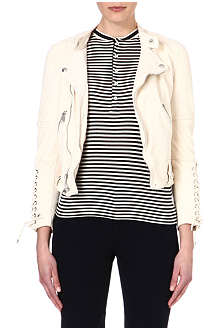 RALPH LAUREN Lennox leather jacket
