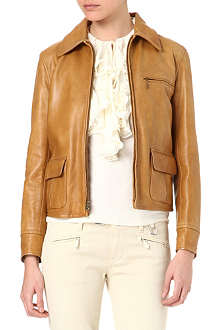 RALPH LAUREN Gambia leather jacket