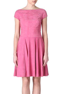 RALPH LAUREN Erica suede dress
