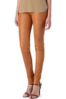 RALPH LAUREN Leland leather trousers