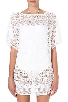 RALPH LAUREN Crocheted tunic