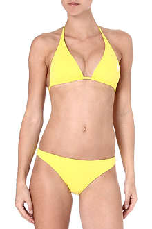 RALPH LAUREN Big Pony triangle bikini