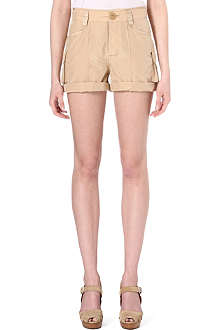 RALPH LAUREN Cyril silk-blend shorts