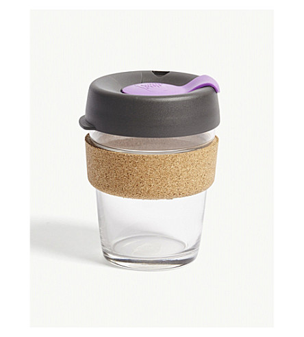 KEEPCUP Brew glass reusable coffee cup medium 340ml