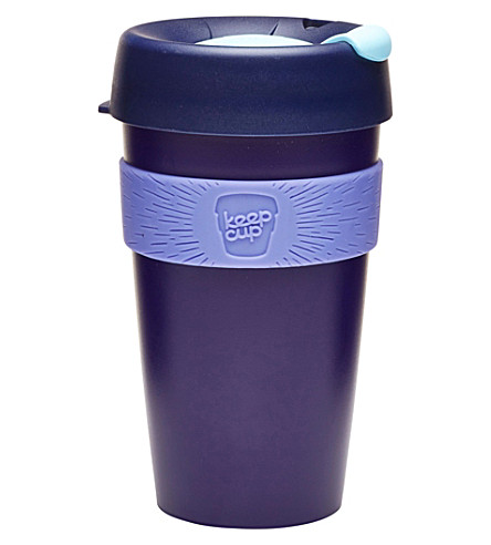 KEEPCUP Blueberry reusable coffee cup large 454ml
