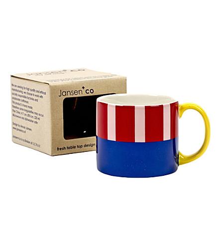 JANSEN My Artmug Henri ceramic mug