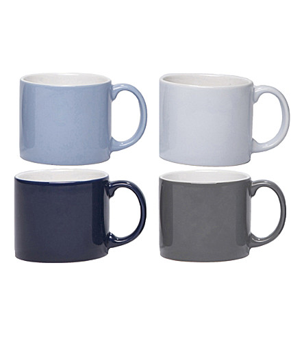 JANSEN Set of four medium My Mugs