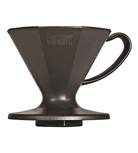 BIALETTI Pour-over two-cup plastic coffee maker