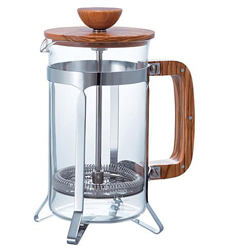 HARIO 橄榄木咖啡按600毫升