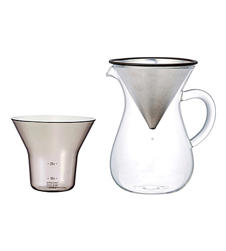 KINTO Slow coffee carafe set 300ml