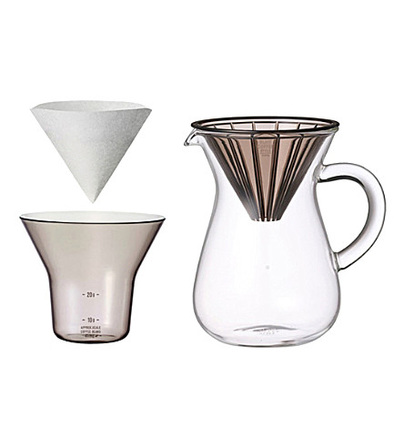 KINTO Slow Coffee Style carafe set 300ml