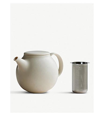 KINTO Atelier Tete stoneware teapot with strainer 500ml