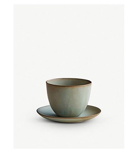 KINTO Atelier Tete porcelain cup & saucer