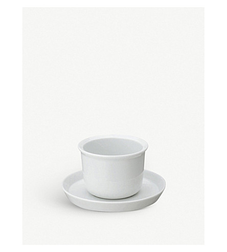 KINTO LT porcelain cup and saucer