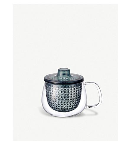 KINTO Unimug glass mug and strainer