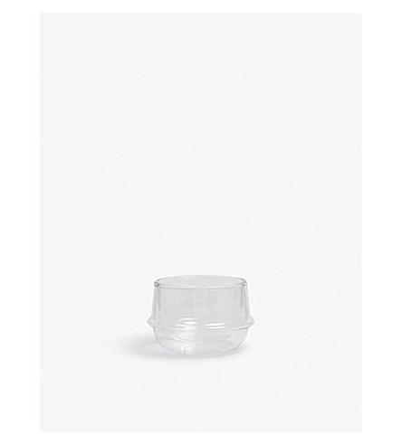 KINTO KRONOS double-walled glass tea cup