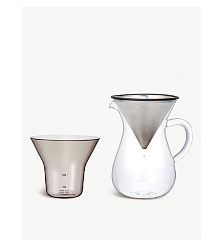 KINTO Slow Coffee Style 02 carafe set 300ml