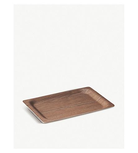 KINTO SCS walnut tray 31cm
