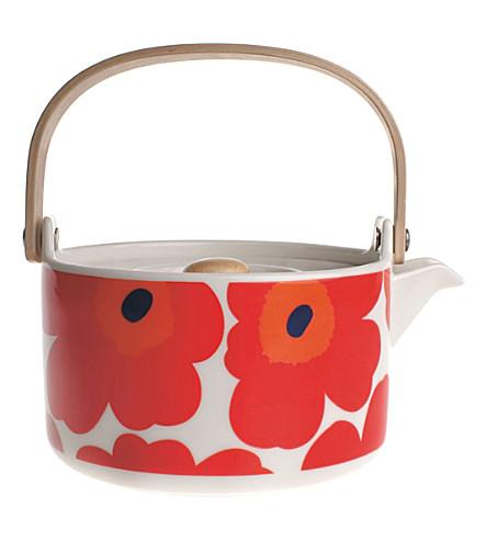 MARIMEKKO Oiva/Unikko teapot