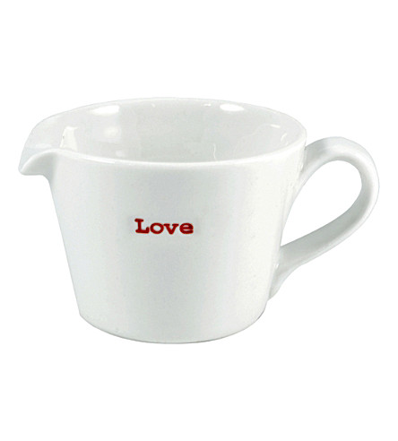KEITH BRYMER JONES Love small porcelain jug 50ml