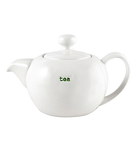 KEITH BRYMER JONES Printed porcelain teapot 800ml