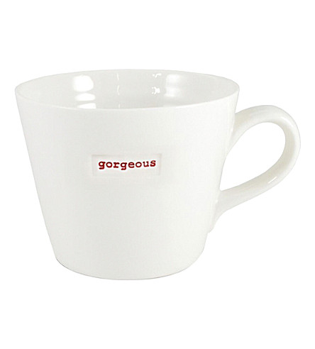 KEITH BRYMER JONES Gorgeous porcelain mug