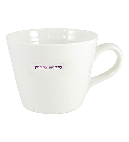 KEITH BRYMER JONES Yummy Mummy porcelain mug