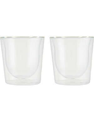 BODUM Pair of 2 Skål double-walled thermo-glasses 0.2l
