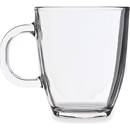 BODUM Bistro glass coffee mug glass 350ml