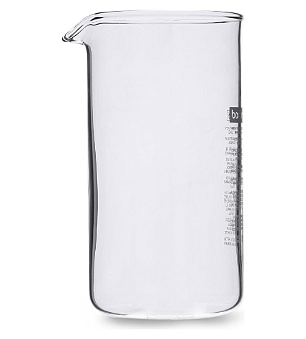 BODUM Spare three-cup glass beaker