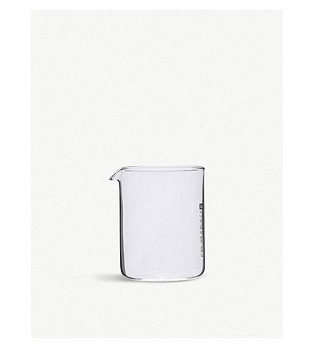 BODUM Spare four-cup glass beaker