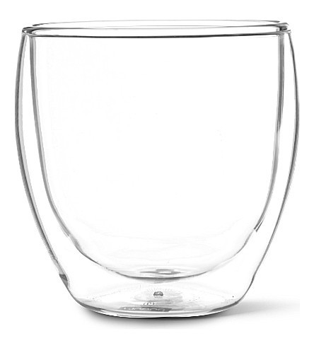 BODUM Pavina double wall glass 250ml