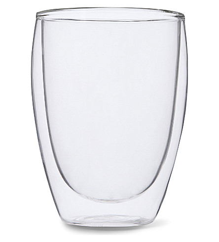 BODUM Pavina double wall glass 350ml