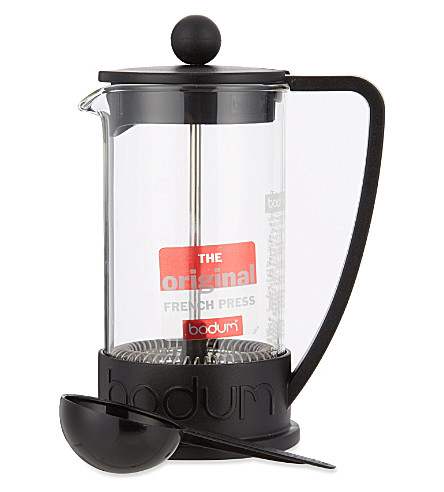 BODUM Brazil French 3 cup press coffee maker (Black