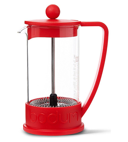 BODUM Brazil French 3 cup press coffee maker (Red