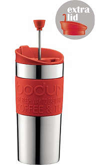 BODUM Travel coffee maker press with extra lid