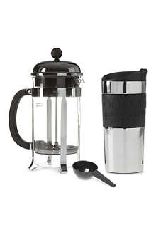 BODUM Chambord cafetiere coffee gift set