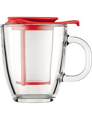 BODUM YO-YO tea mug and infuser