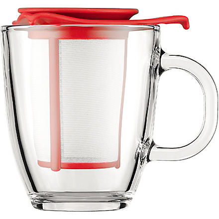 BODUM YO-YO tea mug and infuser