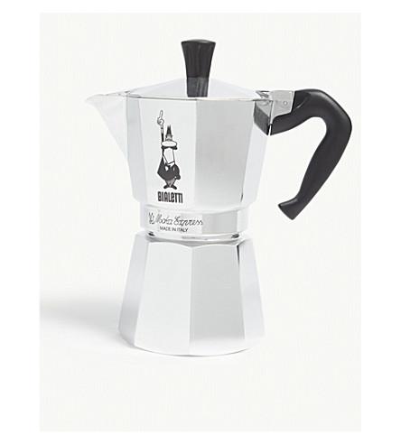 BIALETTI Espresso maker six cup