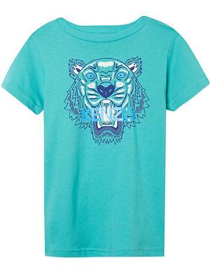KENZO Tiger print t-shirt 4-16 years