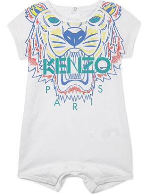 KENZO Tiger logo all-in-one 1-18 months