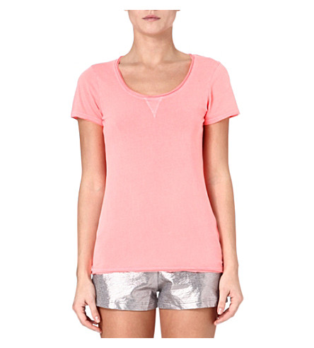 PRINCESSE TAM TAM Cotton t-shirt (Coral