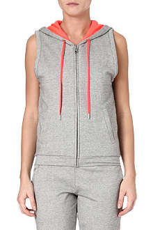 PRINCESSE TAM TAM Xsport hooded vest top